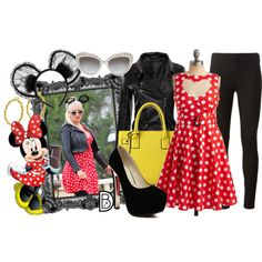 It's fun to see celebrities in their DisneyBounding best! Christina Aguilera was rocking this Minnie Mouse look this past weekend at Disneyland!Get the look!