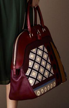 Burberry Prorsum Pre-Fall 2014 #bags #Beautyinthebag #Designer