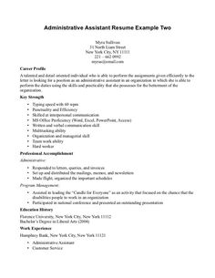 resume example for medical assistant