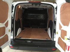 Ford Transit Connect plylining Campervan Hacks, Ford Transit, Connect, Diy, Bricolage, Do It Yourself, Homemade, Diys, Crafting