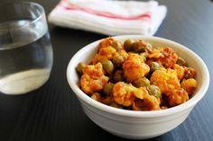 Gobi matar recipe – Cauliflower peas curry