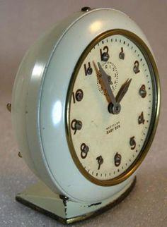 Westclox ~ 1950s Baby Ben (Brialle) Alarm Clock