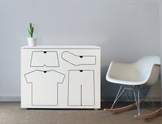 Unique Cabinet with Dress Iconic Drawers – Training Dresser