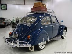 1967 VOLKSWAGEN BEETLE ONE FAMILY OWNER SINCE NEW! #'S MATCHING! ORIGINAL KEYS, INVOICE AND WARRANTY! CALIFORNIA CAR SINCE NEW WITH ORIGINAL BLACK PLATE! NEARLY EVERY CONCEIVABLE OPTION AND DEALER ACCESSORY! FULL LUGGAGE SET! ROOF RACK!...