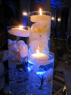 Waterfall cenerpieces | Waterfall Centerpiece Reveal! : wedding centerpiece decor diy montreal ...