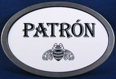 Patron Tequila Belt Buckle
