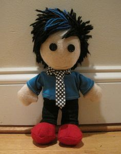 Josh Ramsay doll!! wish they sold these in their store.. maybe i could try making one...