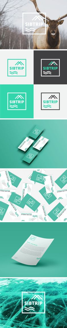 Visual Identity for SIBTRIP by @yaneept Ficou impec! Parabéns!