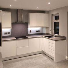 Kitchen Layout Interior, Kitchen Room Design, Kitchen Cabinet Design, Home Decor Kitchen, Home Kitchens, Contemporary Kitchen Design, Cuisines Design, Kitchen Remodel, Furniture