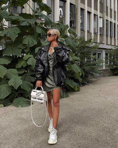 Balenciaga for Women Collection Casual Outfits, Summer Outfits, Cute Outfits, Fashion Outfits, Nike Fashion, Fashion Killa, Everyday Dresses, Everyday Outfits, White Balenciaga