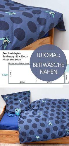 Tutorial Bettwäsche Nähen Sewing Nähen Nähen Lernen Bettbezug
