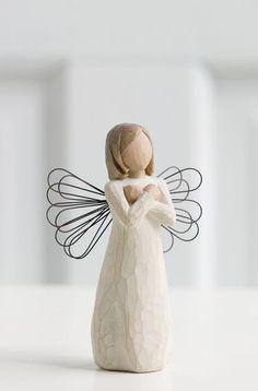 Sign for Love - Willow Tree Figurine - The Shabby Shed  Sentiment: I love you