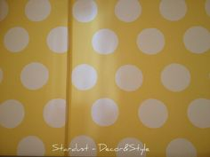 Girl's Bedroom - how to paint polka dots on a wall by Stardust - Decor & Style