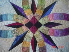 www.myquilter.blogspot.com: Bali Wedding Star quilt