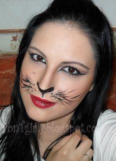 Halloween Makeup | PonTgirly: Halloween: Cat Inspired Makeup