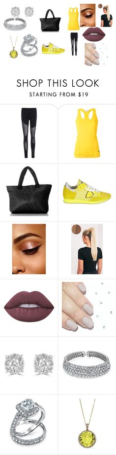 """""""Untitled #456"""" by megibson2005 ❤ liked on Polyvore featuring adidas, Electric Yoga, Philippe Model, Lime Crime, Effy Jewelry, Bling Jewelry and Emilio!"""