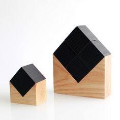 UMENODESIGN Chikuno Cube + House Bamboo Charcoal Air Cleaner
