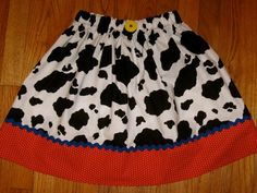 83674830fd8 Toy Story Jessie Ladies Women s Adult Skirt and Girls Size 10 up to Ladies  Size 16 - Waist 36
