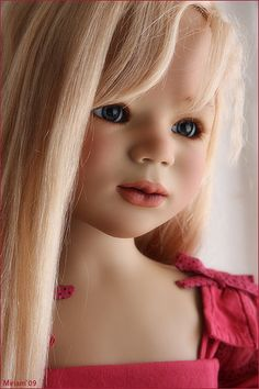 <3 I thought this was a real child. Did double,triple take ! Just Beautiful !