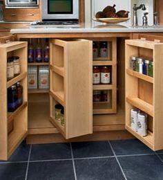 For Island Storage: