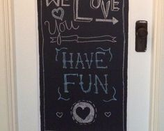 Easy chalkboard paint projects with Colorhouse Paint #Colorhouse #DIY #paintingprojects #homedecor #ArieffCommunications