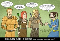 Dragon Age - Origins of... by Epantiras.deviantart.com on @deviantART