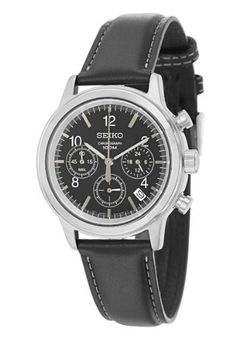 Seiko Chronograph Men's Quartz Watch SSB015 Seiko. $94.48