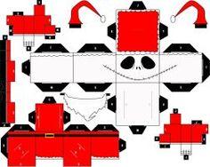 ' Santa Jack ' Cubeecraft by SHONADH01
