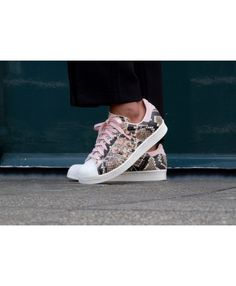 17018a228575 Womens Adidas Superstar 80s Vapour Pink Off White Trainer