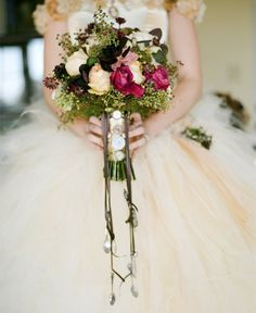 27 Unconventional Bouquets for the Non-Traditional Bride via Brit + Co
