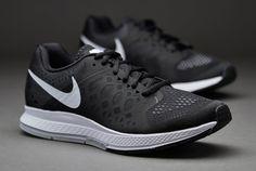 Zapatillas de correr Nike- Deportivas Nike- Zapatillas Nike Zoom Pegasus 31 para mujer- Negro-Blanco