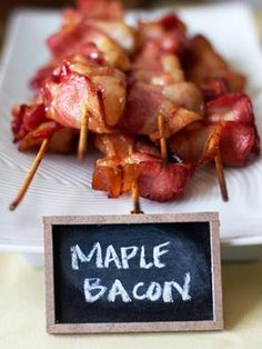 bacon on a stick (brunch)