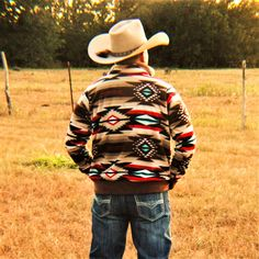 Canyon Stars Punchy Pullover – The Punchy Peyote Cowboy Outfit For Men, Cowboy Outfits, Country Outfits, Country Girls, Country Life, Men's Outfits, Country Style, Aztec Jacket, Bare Necessities