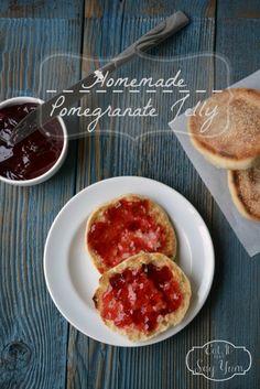 Homemade Pomegranate Jelly at Eat It  Say Yum