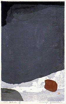 YOSHIDA Masaji   Yûgen No. 1, dated 1959, numbered 24/30