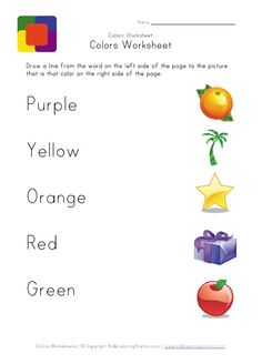 print your color matching worksheet free printable colors worksheets