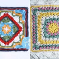 No pattern but this is a lovely appliqued quilt. Crochet Girls, Crochet Baby, Free Crochet, Hand Embroidery Flowers, Embroidery Ideas, Quilt Patterns, Crochet Patterns, Easy Stitch, Freeform Crochet