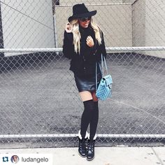 Tanara boots!  #Repost @ludangelo with @repostapp.  All black today  #ootd #black #NYFW #CasaHypeNYFW #nyc