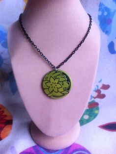 Shaymin Coin Necklace