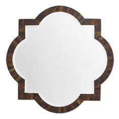 Faux Horn Wall Mirror #williamssonoma