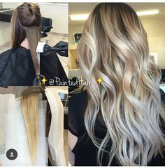 Love this blonde transformation.