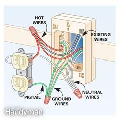 wiring diagrams for lights with fans and one switch read the rh pinterest com Casco 12V Power Outlet Wiring Wiring 2 Outlets
