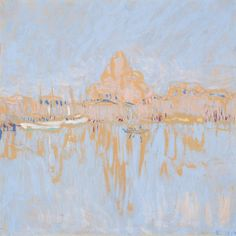 Helsingfors Hamn, 1912 by Ellen Thesleff on Curiator, the world's biggest collaborative art collection. Abstract Landscape, Landscape Paintings, Aya Takano, Female Painters, Digital Museum, Collaborative Art, Scandinavian Art, Female Art, Art Reference