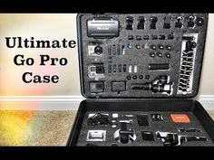 DIY GoPro Case - Hard Sided and Foam Lined - YouTube