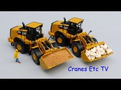 Cranes Etc TV: Norscot Caterpillar 980K Wheel Loader Review.  Check out our Norscot models at 3000toys.com