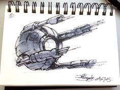 ArtStation - SpaceshipADay 002, Jeff Zugale