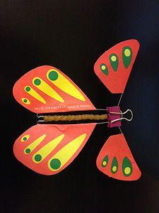 Magic Wind Up Butterflies