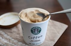 Coffee ice-cream!