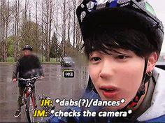 BTS loves to dab Bon Voyage (5/6)