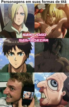 Get your favorite Attack on Titan season 2 characters here. So just check on your favorite characters and enjoy. Anime Meme, Otaku Anime, All Anime, Manga Anime, Attack On Titan Season 2, Attack On Titan Funny, Attack On Titan Anime, Aot Funny, Funny Art